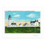 Vista exterior del cabo Blanco LighthouseCoast Tarjetas Postales