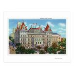Vista exterior del capitolio del estado tarjeta postal