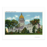 Vista exterior del edificio del capitolio del tarjetas postales