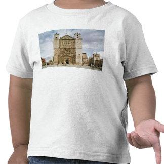 Vista exterior del fa�ade del oeste camiseta