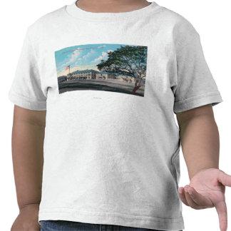 Vista exterior del Hospital General, Presidio Camiseta