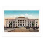 Vista exterior del Palacio de Justicia del condado Tarjetas Postales