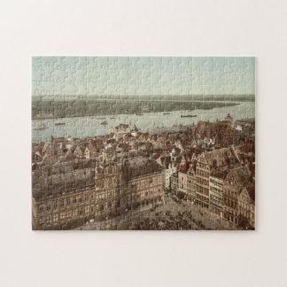 Vista general de Amberes I, Bélgica Puzzles