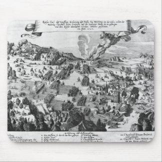 Vista general de la batalla de Muhlberg Mousepad