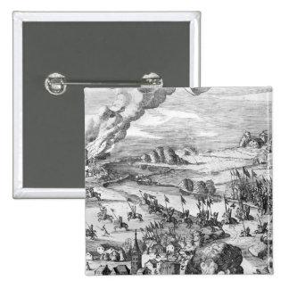 Vista general de la batalla de Muhlberg Pin Cuadrado