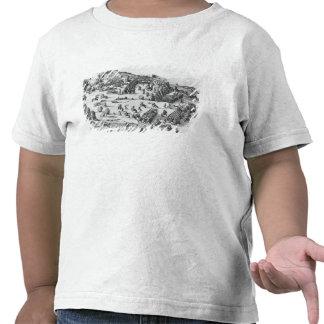 Vista general de la batalla de Muhlberg Camisetas