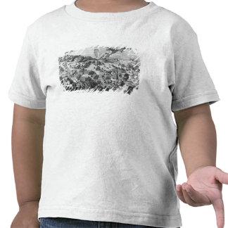 Vista general de la batalla de Muhlberg Camiseta