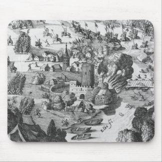 Vista general de la batalla de Muhlberg Tapete De Raton