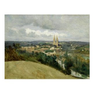 Vista general de la ciudad del Santo-Lo c 1833 Tarjetas Postales