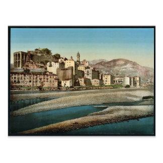 Vista general de la ciudad, no. 1, Ventimiglia, Ri Tarjeta Postal
