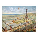 Vista general de la exposición universal tarjeta postal