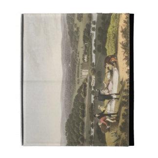 Vista general de Longleat de la colina de la persp