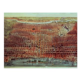 Vista general de Philadelphia, 1875 Postales