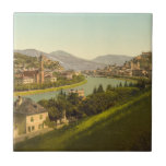 Vista general de Salzburg, Austria Azulejos Cerámicos