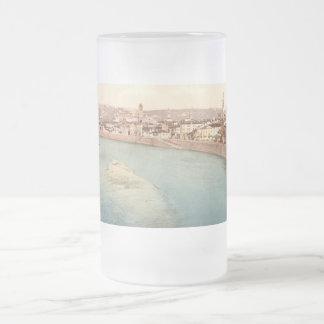 Vista general de Verona, Véneto, Italia Taza De Cristal