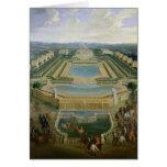 Vista general del castillo francés felicitaciones
