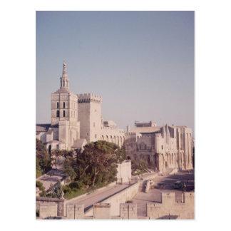 Vista general del palacio tarjetas postales