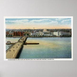Vista general del puente del MIT y de Harvard, Impresiones