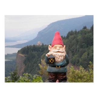 Vista Gnome Postcard