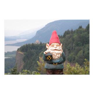 Vista Gnome Stationery