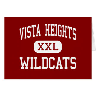 Vista Heights - Wildcats - Middle - Moreno Valley Cards