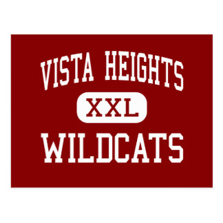Vista Heights - Wildcats - Middle - Moreno Valley Post Card