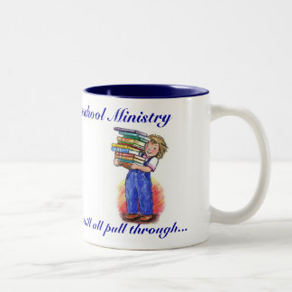 Vista  Hills  Homeschool Ministry Two-Tone Coffee Mug