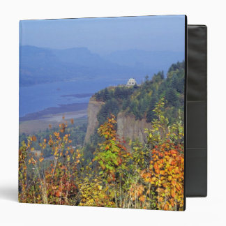 Vista House, high on Crown Point at the mouth 3 Ring Binder