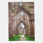 Vista interior de la abadía antigua País de Gales, Toalla
