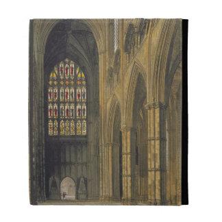 Vista interior de la abadía de Westminster que mir
