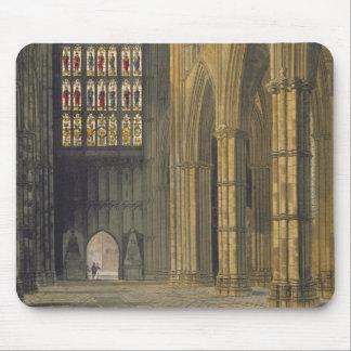 Vista interior de la abadía de Westminster que mir Tapete De Ratones