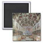Vista interior de la capilla de Sistine Imán De Nevera