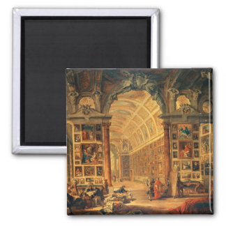 Vista interior de la galería de Colonna, Roma (ace Imán De Frigorífico
