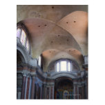 Vista interior de los ángelus del degli de Santa Tarjetas Postales