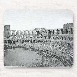 Vista interior del amphitheatre alfombrilla de ratones