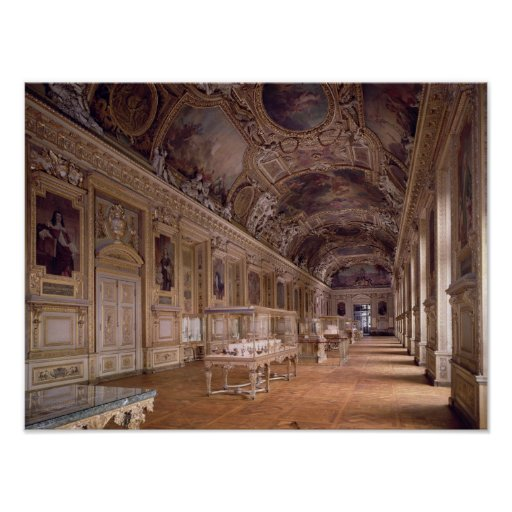 Vista interior del d'Apollon de Galerie Poster