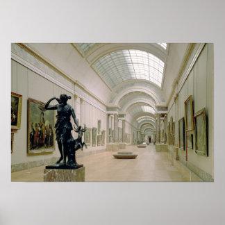 Vista interior del grande Galerie Póster