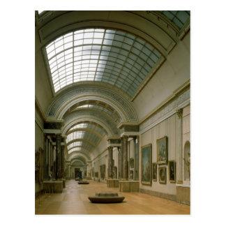 Vista interior del grande Galerie Tarjetas Postales