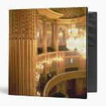 """Vista interior del teatro de la ópera que mira carpeta 1 1/2"""""""