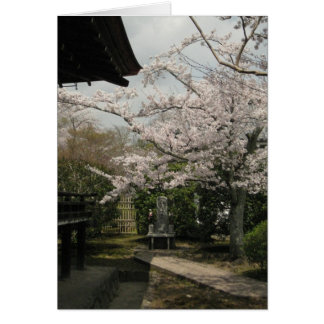 Vista-Keigo-NY de la esquina del templo Tarjeta Pequeña