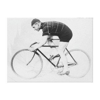Vista lateral de Anderson del normando de competir Impresión En Lienzo