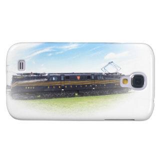 Vista lateral del ferrocarril GG1 #4800 de Pennsyl Funda Para Galaxy S4