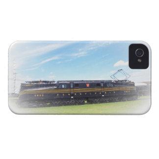 Vista lateral del ferrocarril GG-1 #4800 de iPhone 4 Case-Mate Protectores