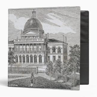 """Vista meridional de la casa del estado en Boston Carpeta 1 1/2"""""""