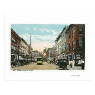 Vista meridional de Wall Street Postal