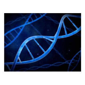 Vista microscópica de la DNA Tarjetas Postales