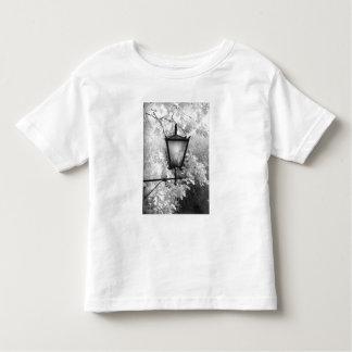 Vista negra y blanca de la lámpara t-shirts