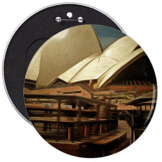 Vista oscura de la ópera house.jpg de Sydney Pin Redondo 15 Cm