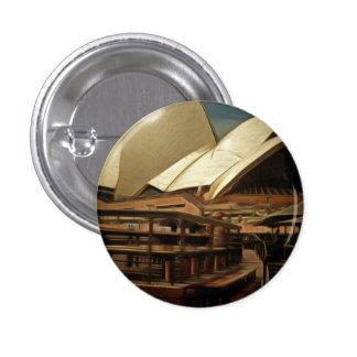 Vista oscura de la ópera house.jpg de Sydney Pin Redondo 2,5 Cm