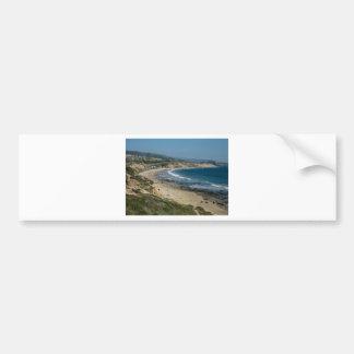 Vista pacífica etiqueta de parachoque